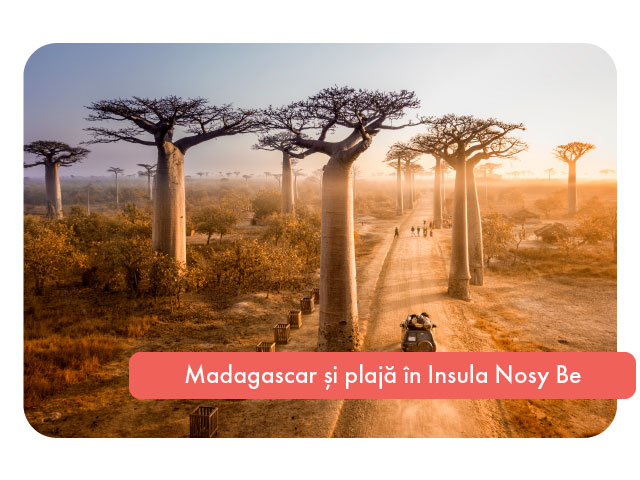 Sejur combinat in Madagascar si plaja in Insula Nosy Be