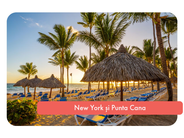 Sejur combinat in New York si Punta Cana